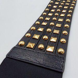 BCBGeneration Gold Studded Belt